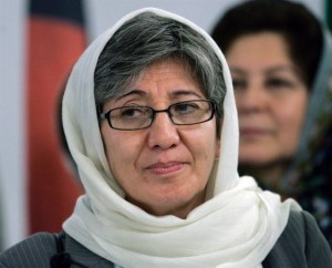 Corruption fighter, Afghan woman