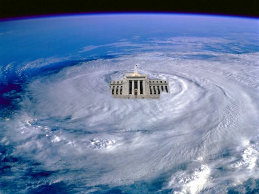 Federal Reserve is in the eye of the storm