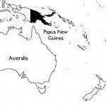 Papua New Guinea-mape