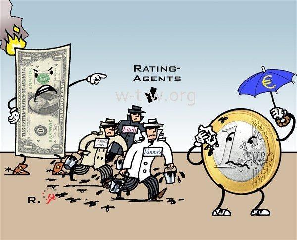Dollar Vs Euro Rating Agents