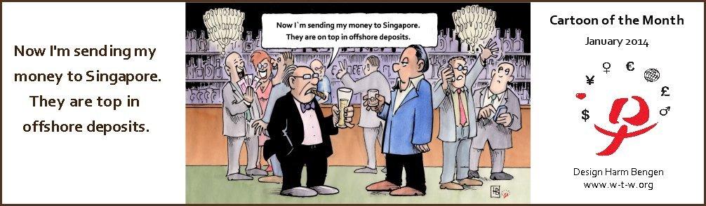 Cartoon of January 2014