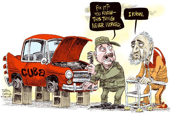 Image result for cuba cartoons
